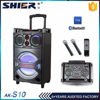CE, RoHS Certification professional active multimedia speaker system with usb/sd/fm/bt