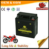 Good starting performance 3ah 12n7 3a motorcycle battery