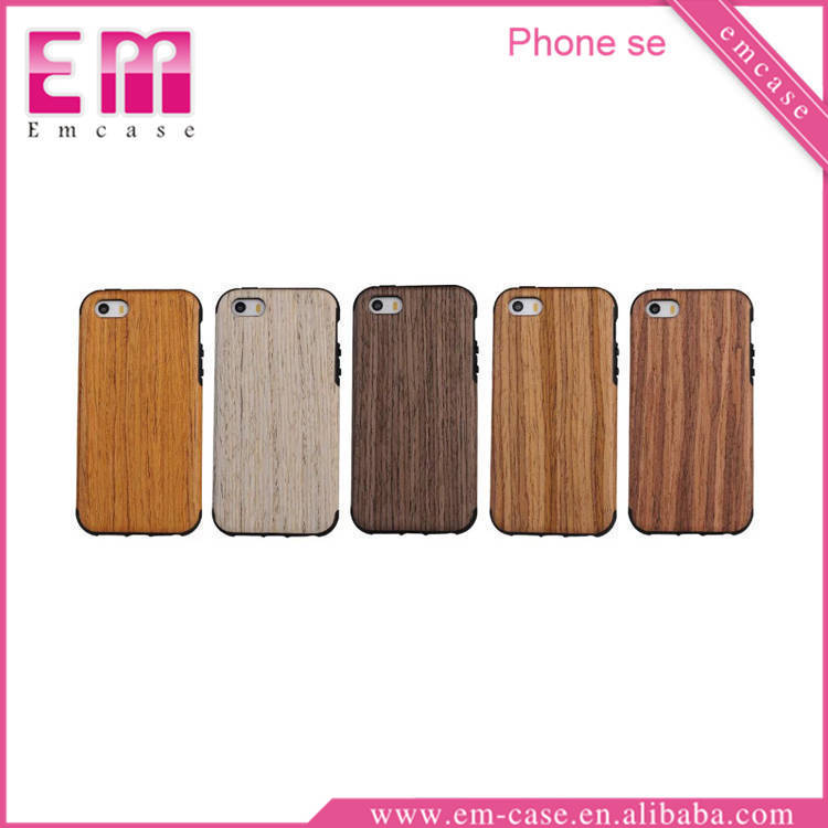 Wood Stylish TPU Cell Phone Case For iPhone 5/5S, For iPhone 5 Thin Rubber Case