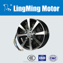 72v single shaft electric car dc in wheel hub motor kit