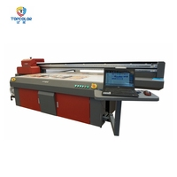 Special promotion 2500mm x 1300mm multicolor inkjet 3d digital metal sign printing machine