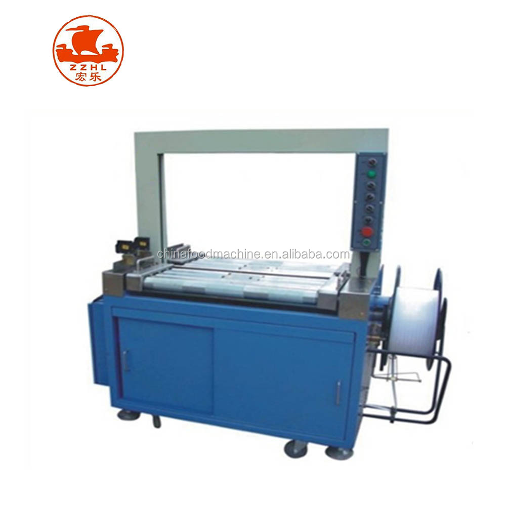 Hot sale Low platform, cardboard box, automatic packing bundle tying machine