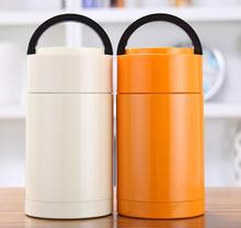 Premium quality food Preservation eco-friendly double wall Insulated 304 stainless steel lifting bottle cans thermos flask mugs