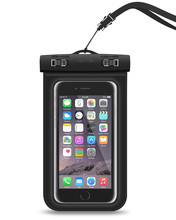"Augin Universal Waterproof Case,CellPhone Dry Bag Pouch for Apple iPhone ,Samsung up to 6.0"" diagonal"