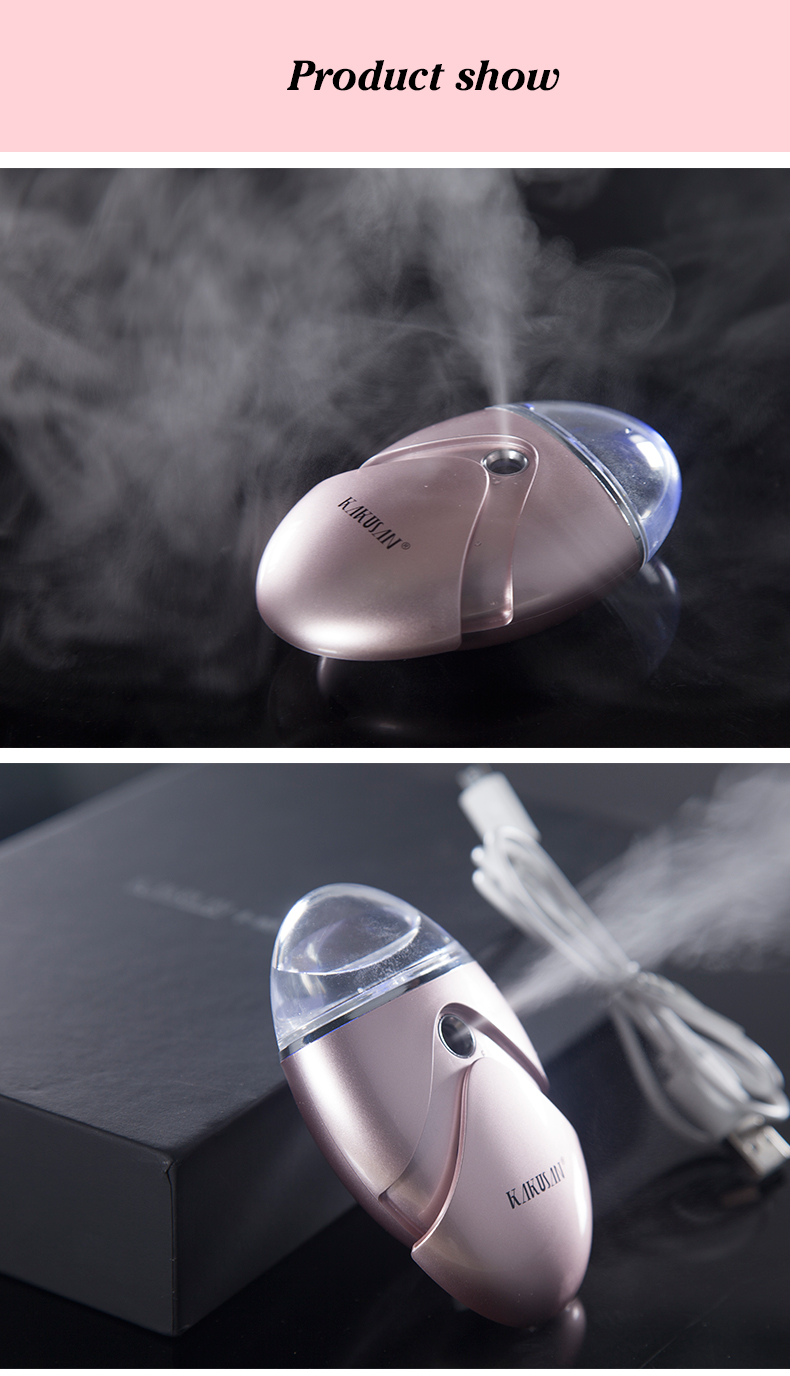 Best selling portable facial handy nano spray and ion facial steamer