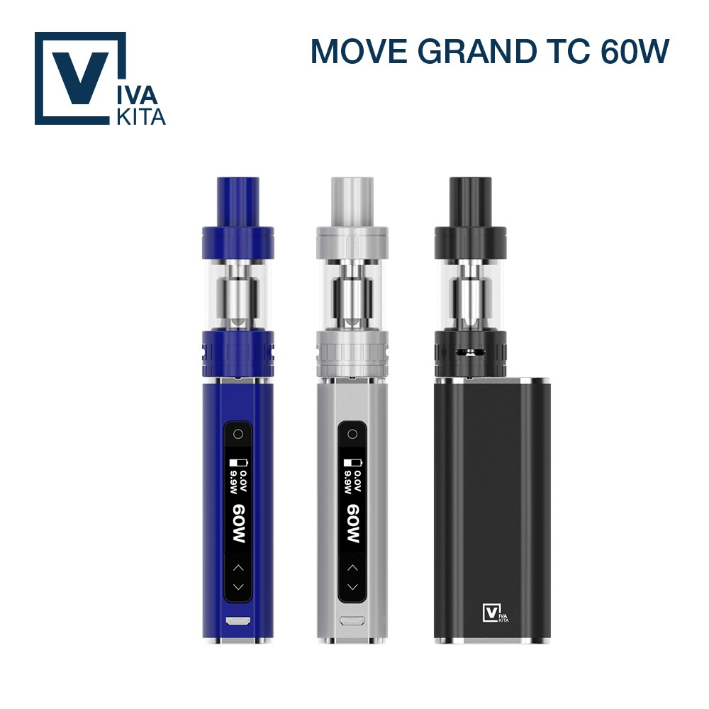VIVAKITA 60W temperature control top filling ceramic heating element vaporizer e cigarette