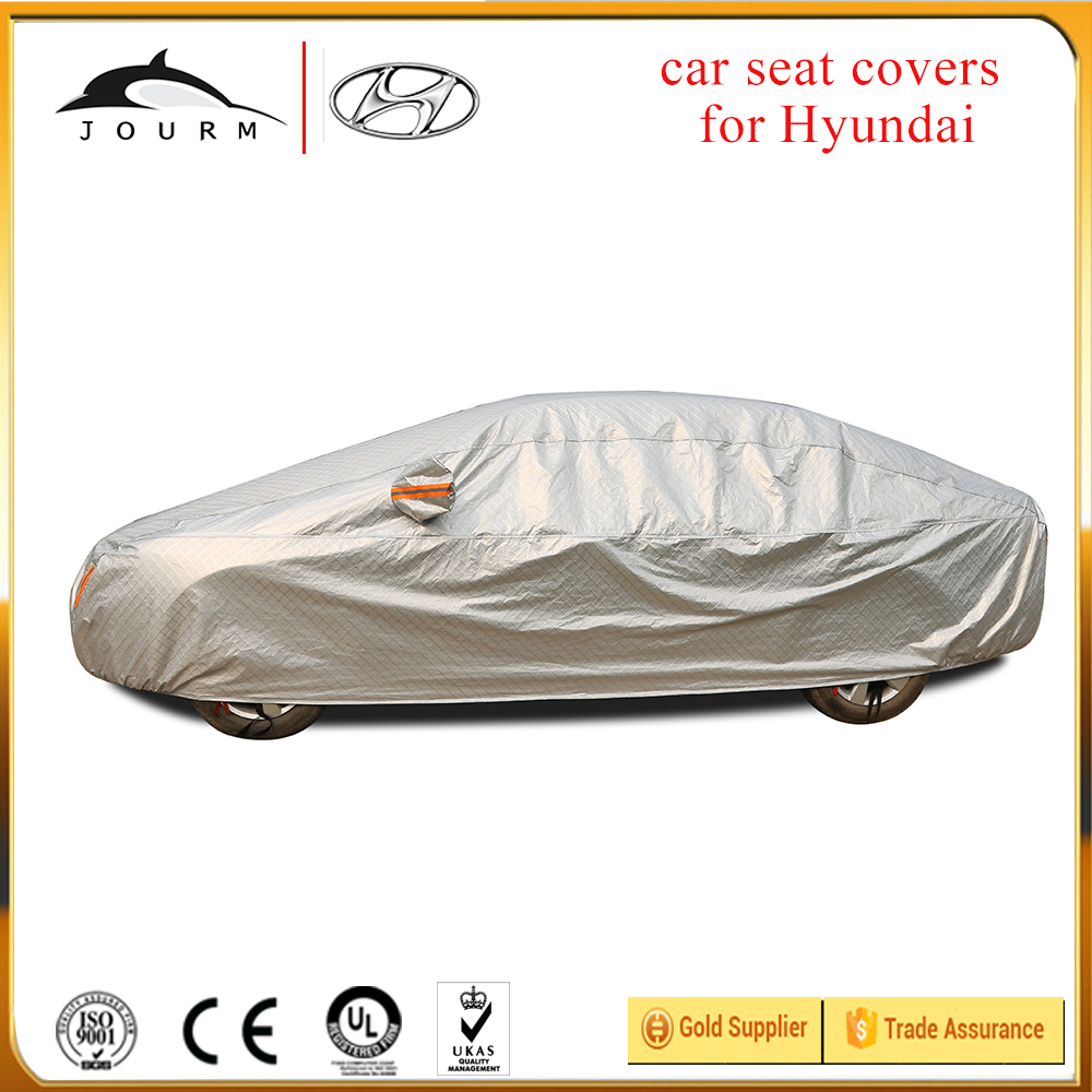 Aluminum UV protection car sun visor cover for hyundai IX25 IX35