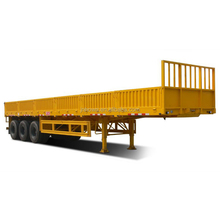 3 axles 20ft 40ft container platform flatbed semi trailer/truck trailer/shipping container trailers