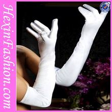 Opera Elbow Length Pearl Long Satin Gloves Importers