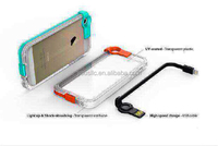 [hot] Good Quality TPU Case With Date Line and light Case for Iphone 5s 5