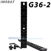 G36-2 Dovetail Weaver Picatinny Rail Mount with 20mm Mount 125mm Length and 13 Slots Dovetail Extensible Scope bases Mount