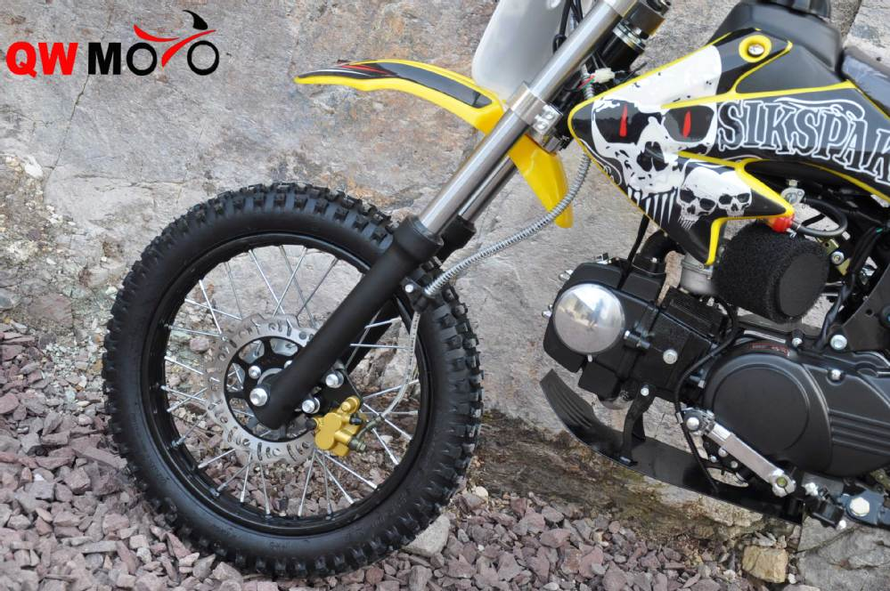 Newest hot sell racing bike Yellow 125cc dirt bike cheap 125cc dirt bike for sale with CE
