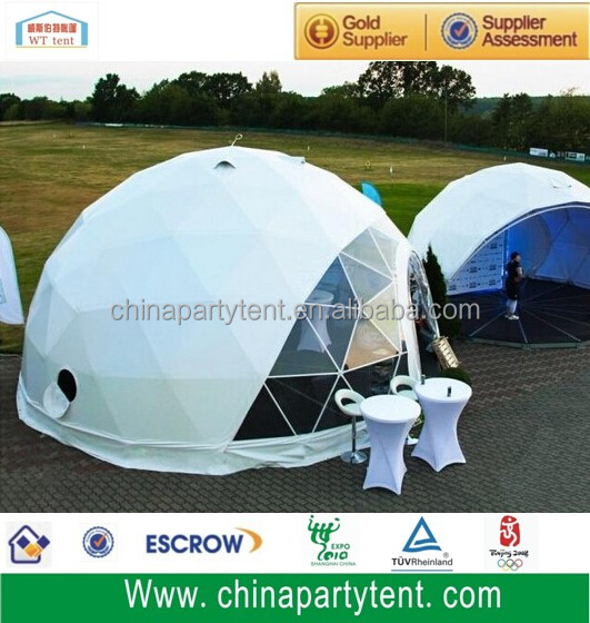Outdoor frame party geodesic dome tent for events