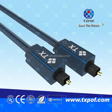 1.5M Digital Audio Fiber Optical Line Toslink Connect Cable for Speaker Amplifier CD DVD DAT MD DAC LD