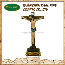 custom High quality jesus on the cross figurines for sale