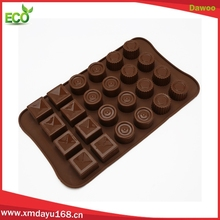 multi shape chocolate molds silicon, hot sale 3d chocolate mold