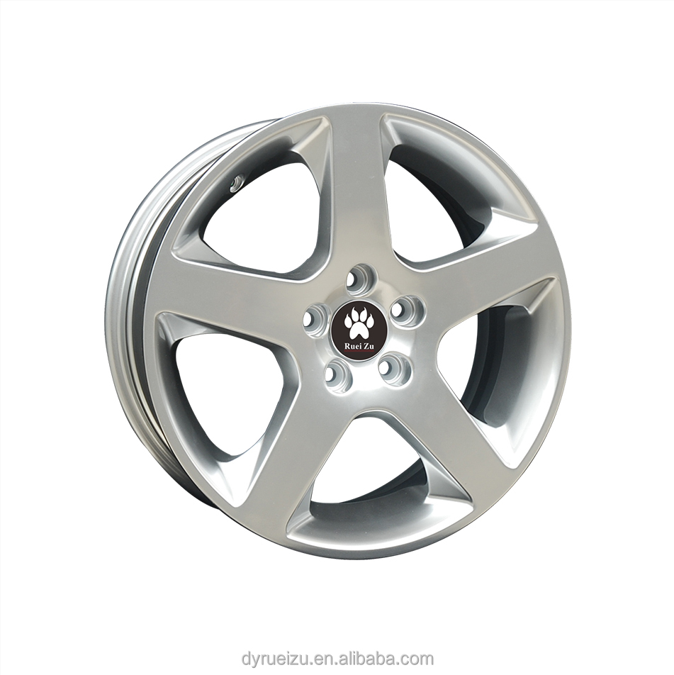 alloy wheel for volvo size 17*7 5*108 silver high quality reasonable price