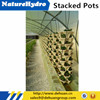 Hydroponics Stacking Pot Used In Agriculture