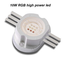 Long life 10W RGB high power LED Epiled chip