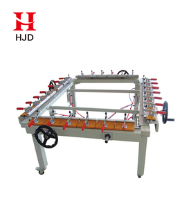 Hot Sale Cheap Price Screen Printing Clamp Mechanical Stretching Machine