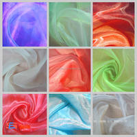 Polyester organza fabric for jovani dresses wholesale /vave wang wedding dress / Jorjet fabric for wedding drees
