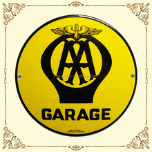 2016 customized new coming garage collection metal sign
