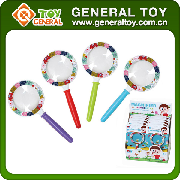 Children most interested toy magnifying glass