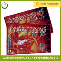 Goods from china Strong Sealing flamingo 10g herbal incense bags