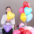 Factory wholesale 12 inch red heart shape latex wedding balloon globos decorations