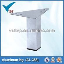 furniture cabinet triangle aluminum table leg