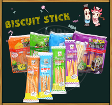 very nice and cheap wholesale Pretzel finger stick biscuit with different flavor