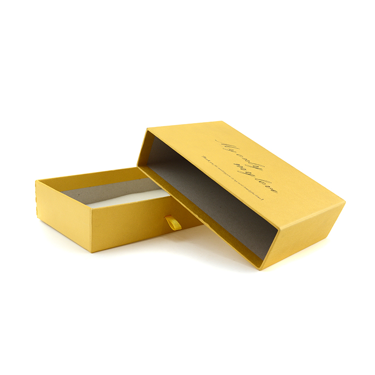 ODM/OEM luxury necktie gift box custom stamping paper box for tie