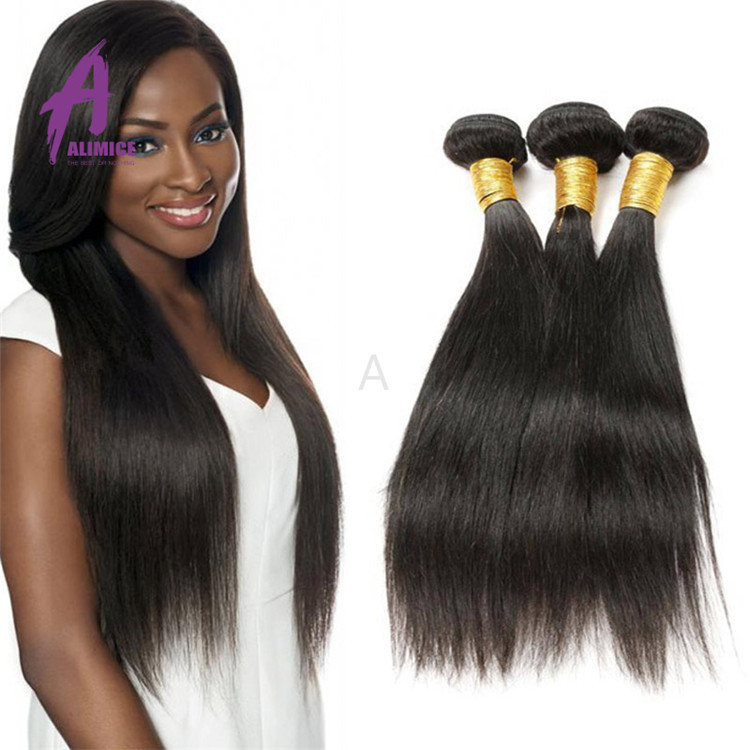 Soft Indian Virgin Hair Thick Bundle 100% Virgin Indian Remy Temple Hair Indian Hair Extensions Wholesale