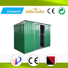 varnished double sliding doors durable modular prefab house