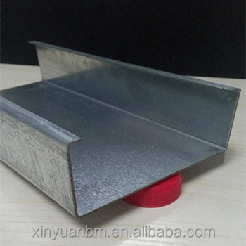 galvanized Light Steel Profile Metal c Stud u track for Drywall Partition/ suspended ceiling C Channel