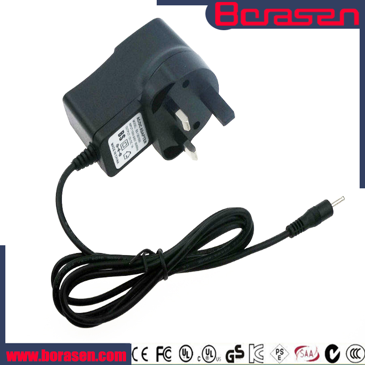 Alibaba express 13.5v ac dc adaptor 500ma with CE/FCC/RoHs certificate