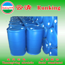 Runking alkaline solution for cleaning for metal