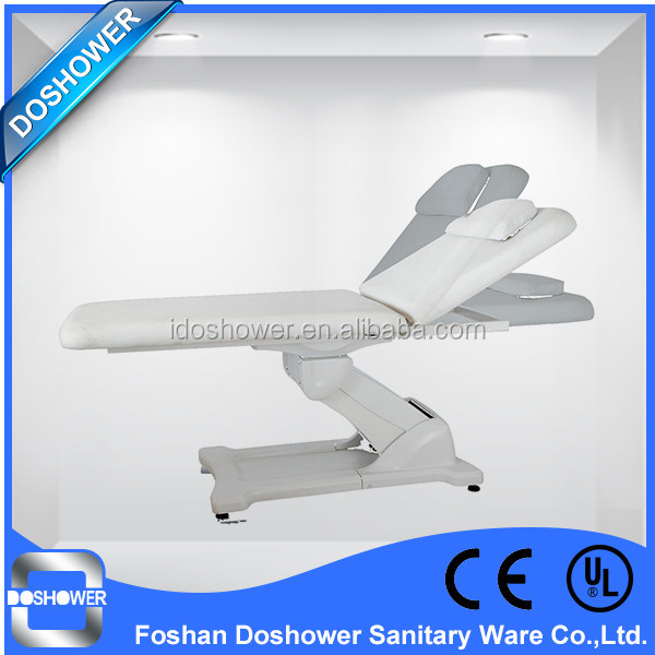 Doshower aluminum steel frame massage table with face hole