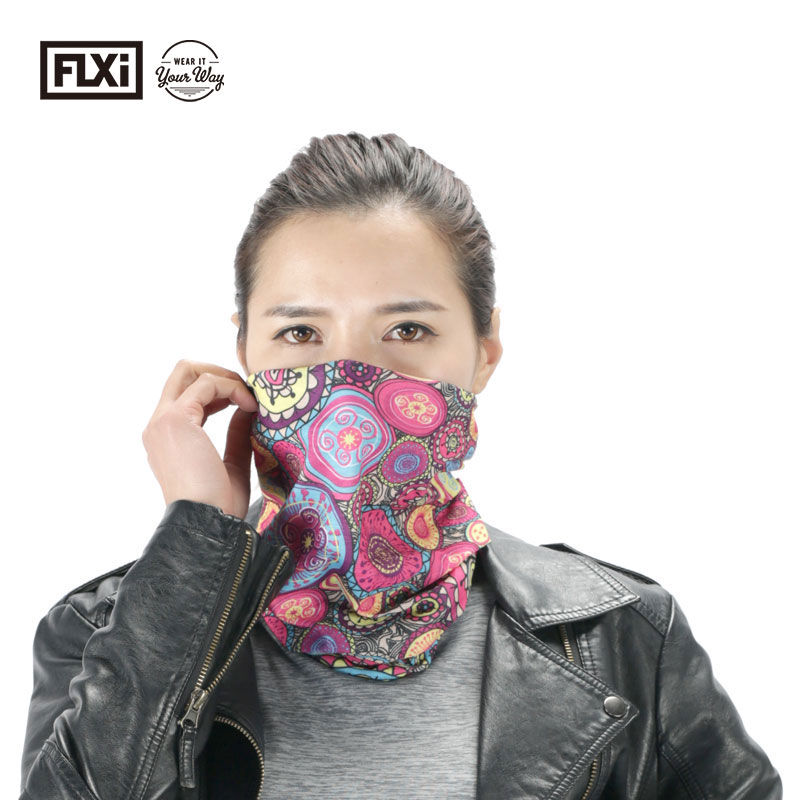 FLXi Multifunctional Promotional Outdoor Sportswear Bandana with Custom Packing