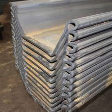 Hot Selling Z and U profile Z Type Steel Sheet Pile