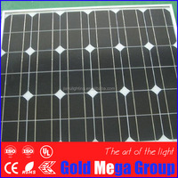 IP67 rated 20 year warranty 140w photovoltaic monocrystalline silicon solar panel solar cell module