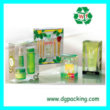 luxury facial cleanser&nail polish&lipstick plastic packaging box