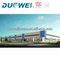 Prefabricated steel structure factory or warehouse
