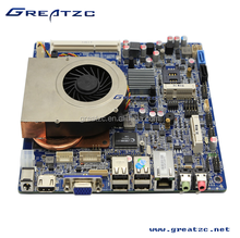 ZC-ION4-1037 DC 12V Mini Itx Motherboard With Onboard Intel 1037U CPU, Dual Core mainboard With 2GB Video Memory&VGA&LVDS&LAN