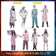 Halloween adult and kids Horror doctor costume cosplay zombie doctor costume