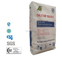 E516 food grade Calcium sulfate for making tofu with quick delivery