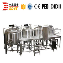 shopping center short-time alcohol beer making machine for sale