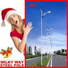 15m hinged led street lamp posts