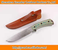 G10 Handle Fixed Blade Knife 7CR17MOV Steel camping knife tactical survival oudtoor knife 5979