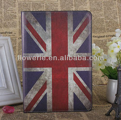 FL631 Guangzhou UK England Classic Style PU Leather Cover Case for ipad mini no moq!